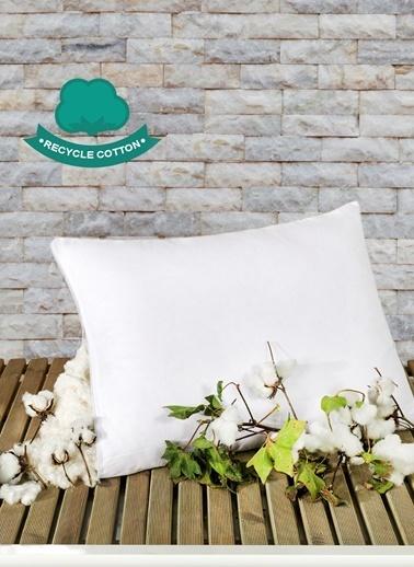 Eponj Home Yastık Recycle Pamuk 50x70cm  Beyaz